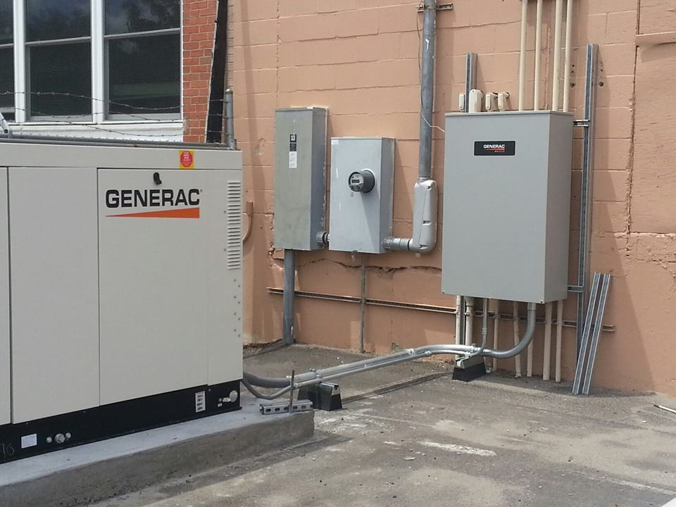 Home generator electrical contractors sales and installation