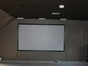 home theater large screen